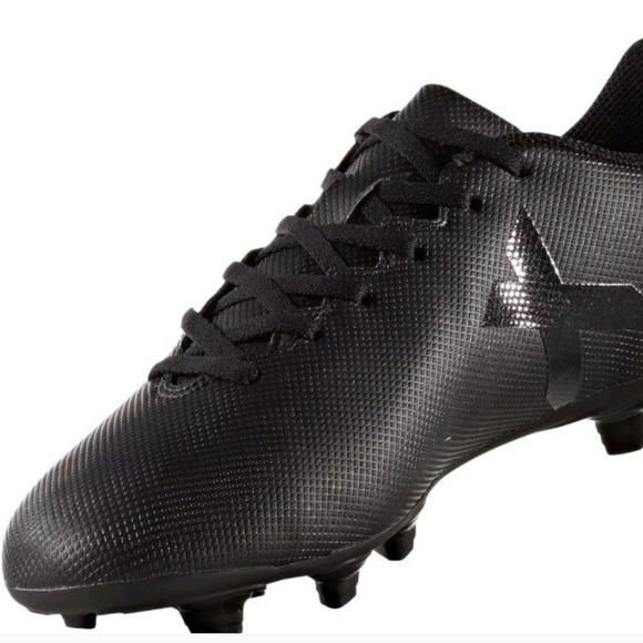 adidas schuhe mens x 174 fg schwarze stollenschuhe größe 8 poshmark